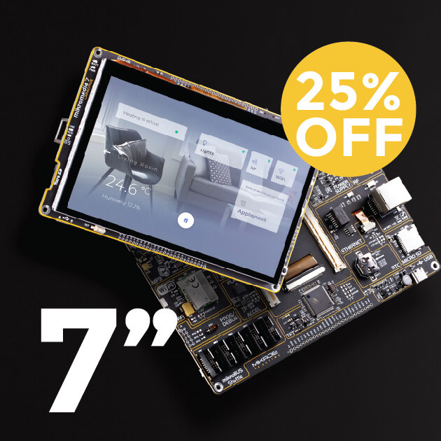 25% OFF mikromedia Smart Display 7