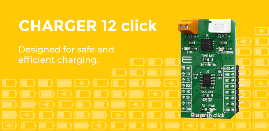 Charger 12 click