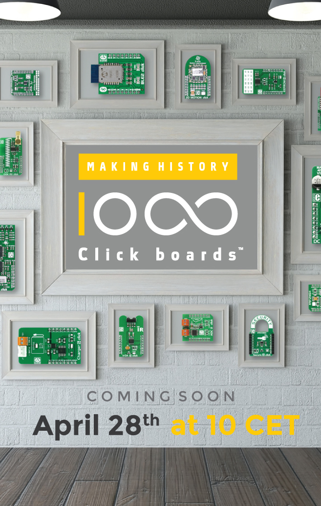1000 Click boards™ COMING SOON