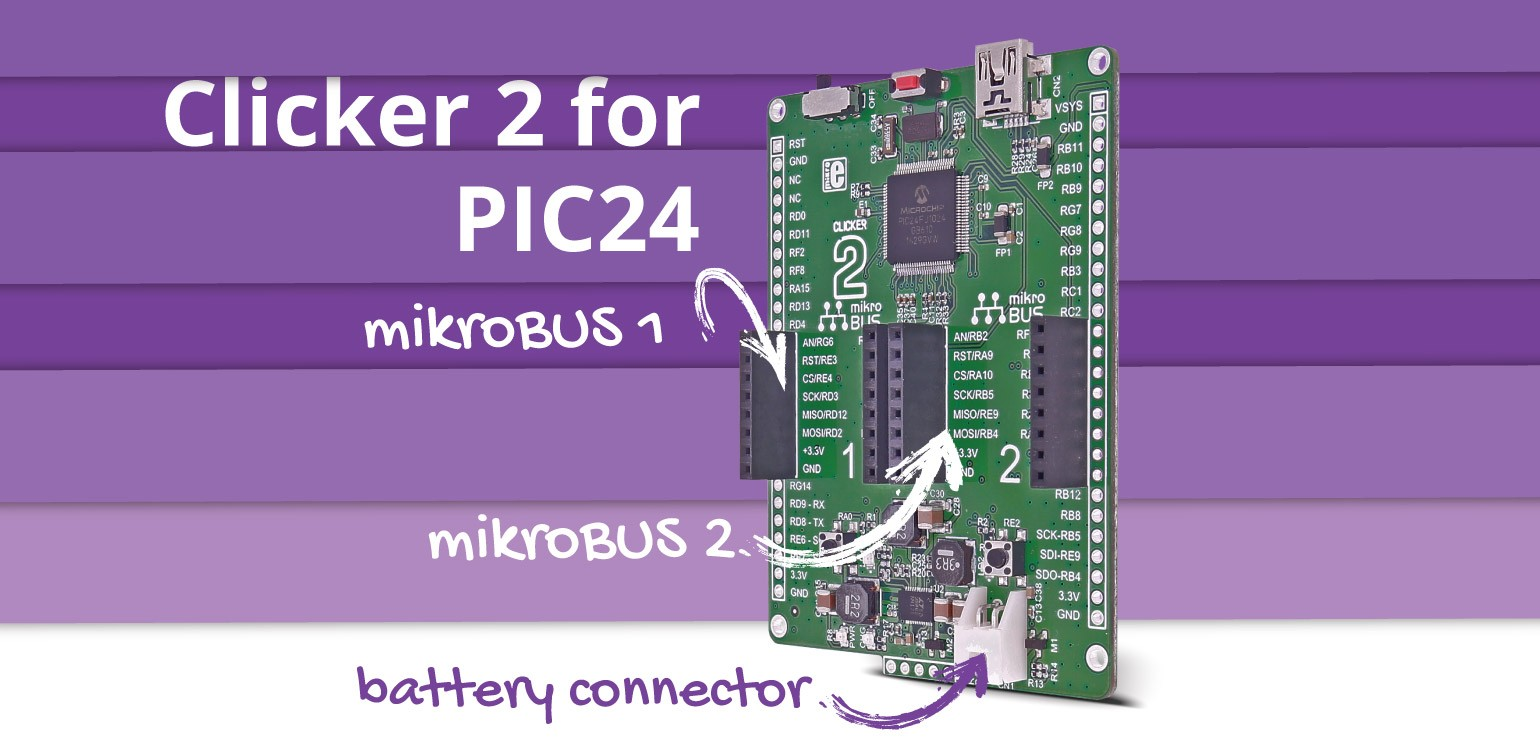 Clicker 2 for PIC24