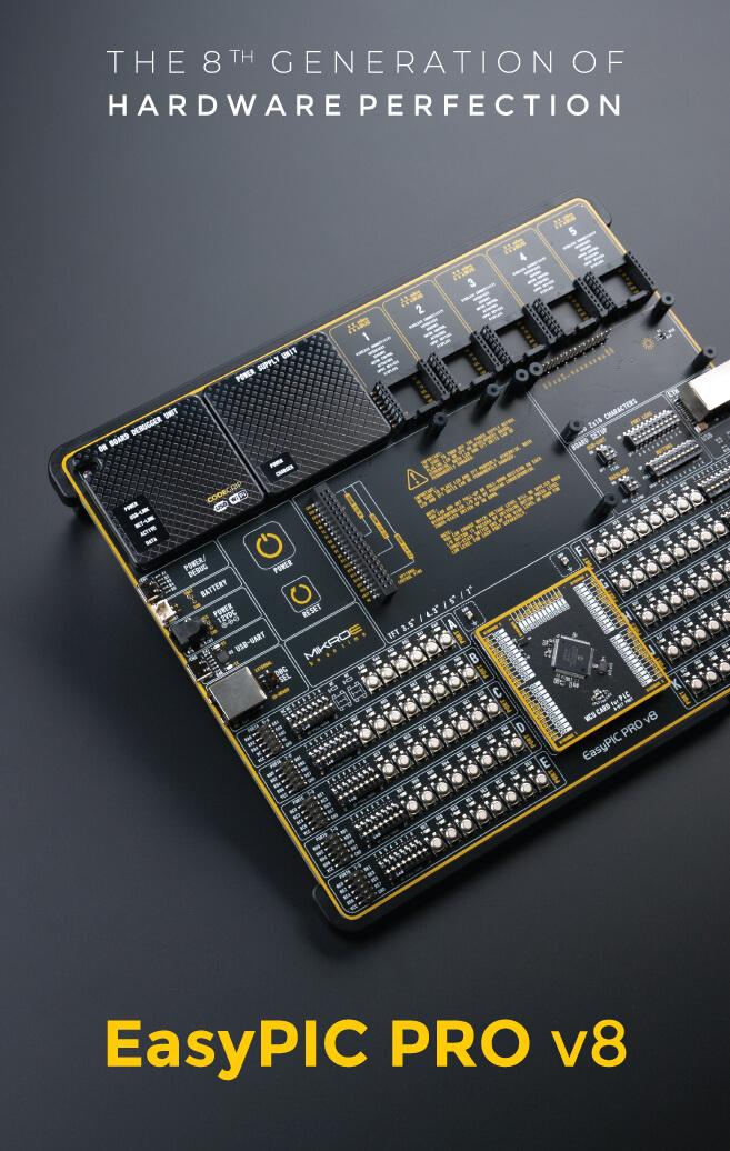 easypic pro v8 mikroe dev board