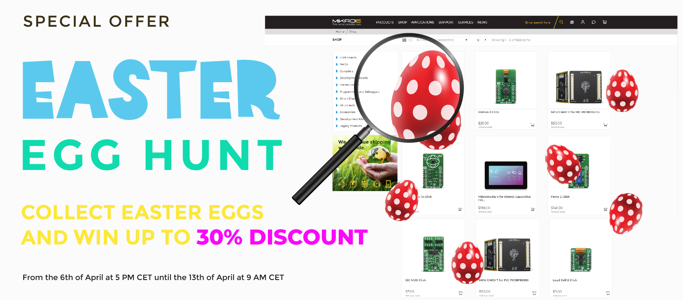 EASTER EGG HUNT has officially started!