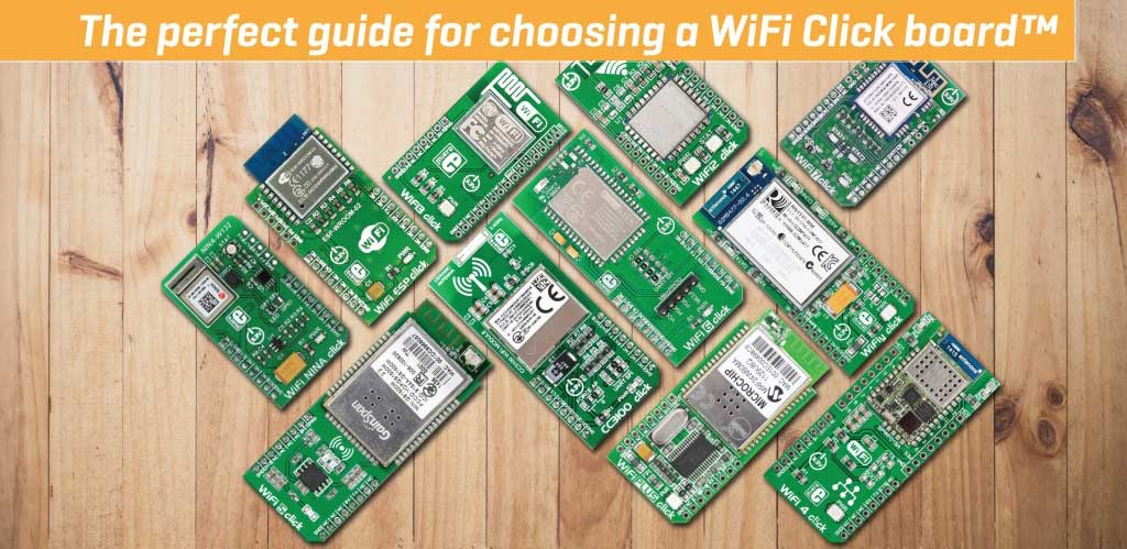 WiFi Click boards