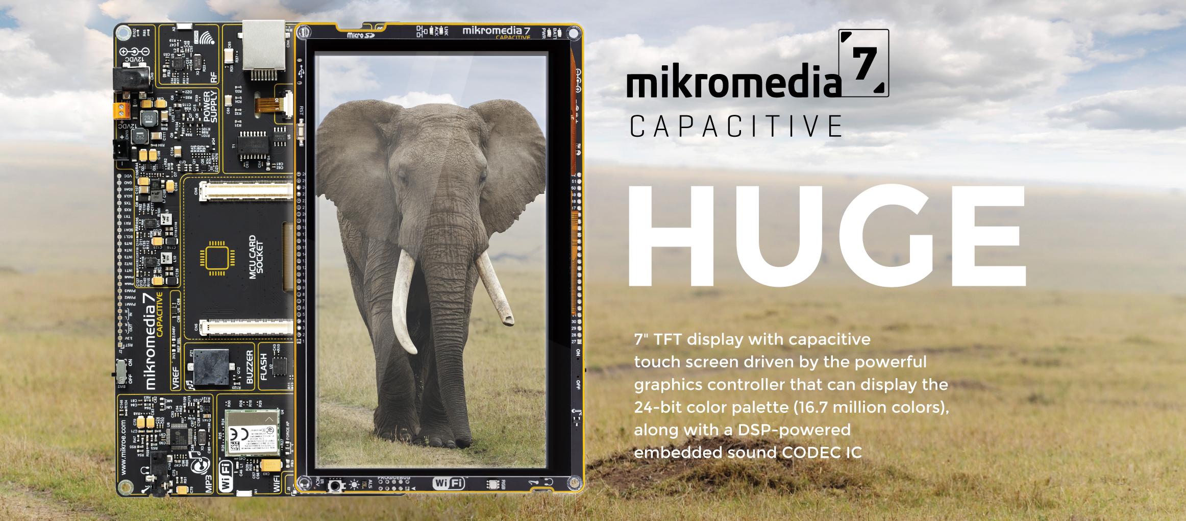 mikromedia 7 CAPACITIVE HUGE