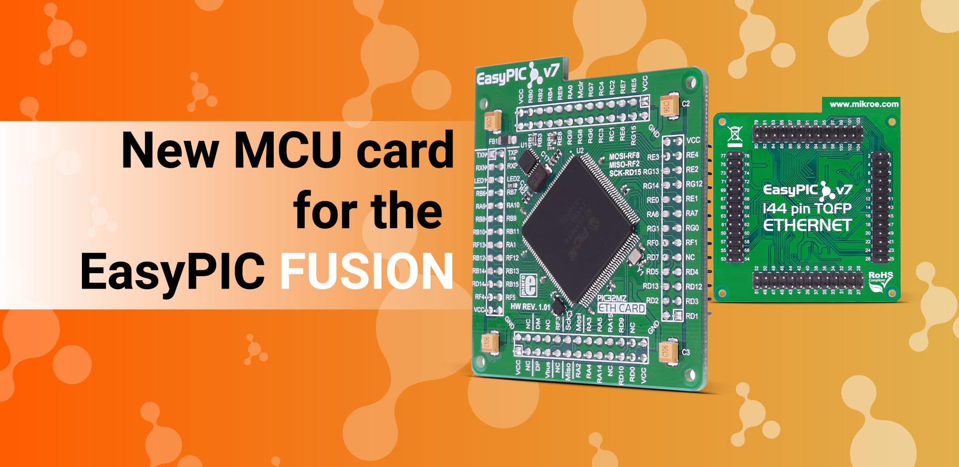 FUSION v7 MCUcard