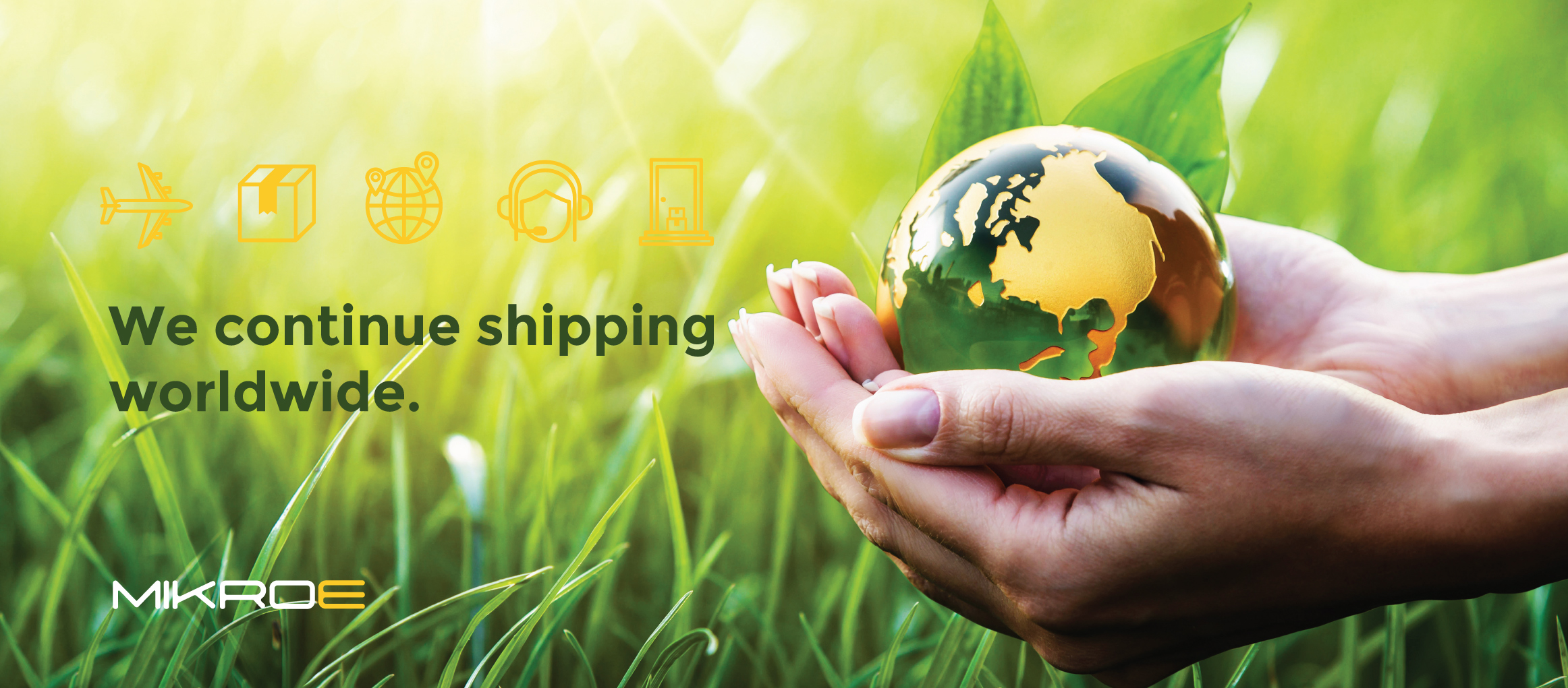 shipping banner mobile