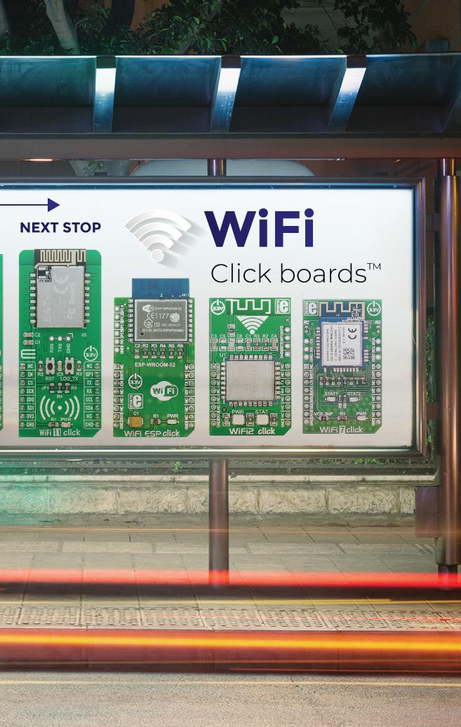 WiFi Click boards